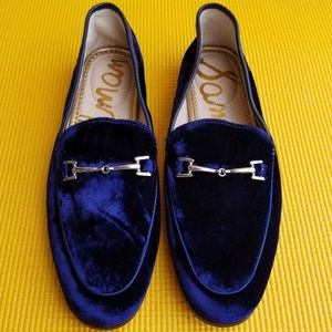 Sam Edelman Loraine Loafer in velvet blue